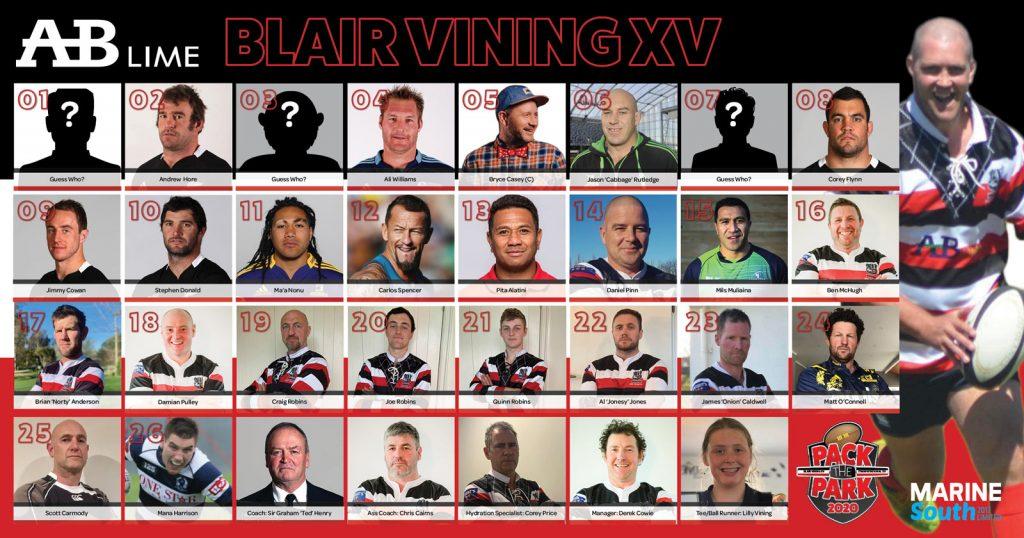 Stephen Donald, Blair Vining, Carlos Spencer, Ma'a Nonu, Graham Henry, Chris Cairns